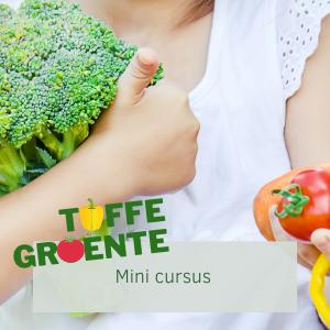 Wil jij ook dat je kind met meer plezier groente eet? Geen strijd aan tafel en wel voldoende eten? Doe dan mee met de mini cursus toffe groente!